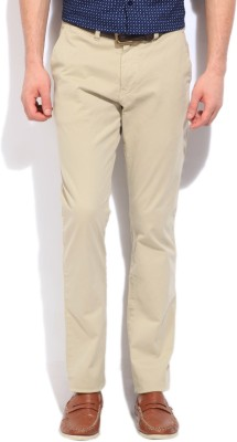 Nautica Slim Fit Men's Beige Trousers