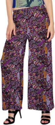 Comix Regular Fit Womens Purple, Blue Trousers