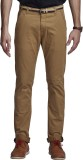 Beevee Regular Fit Men's Beige Trousers
