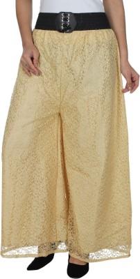 Dimpy Garments Regular Fit Women's Beige Trousers