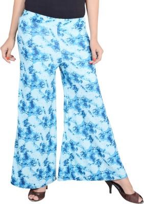 styzon Regular Fit Women's Blue Trousers