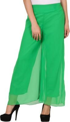 Pretty Angel Regular Fit Women's Light Green Trousers