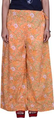 Pezzava Regular Fit Women's Orange Trousers