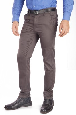 A Flash Regular Fit Men's Beige Trousers