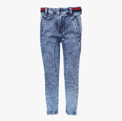 Tales & Stories Slim Fit Boy's Denim Blue Trousers