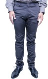 Makeover Regular Fit Men's Grey Trousers