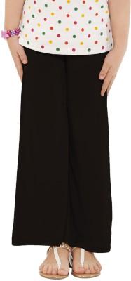 Go Colors Regular Fit Girl's Black Trousers