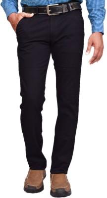 American Noti Skinny Fit Men's Black Trousers
