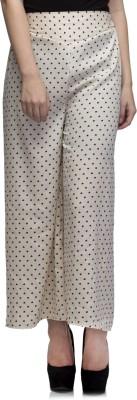 Dee Fashion House Regular Fit Women's Cream Trousers