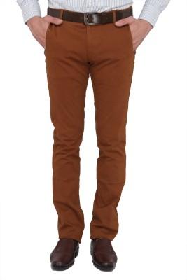 Donear NXG Regular Fit Men's Brown Trousers