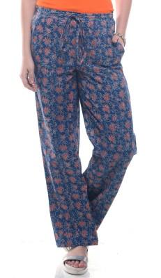 Lyla Regular Fit Women's Blue Trousers