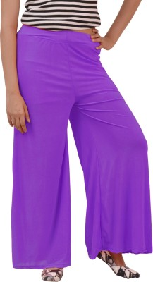 Ace Regular Fit Women's Purple, Pink, Black, Red, White Trousers