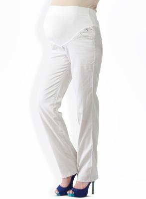Morph Maternity Women's White Trousers