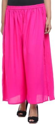 Lavennder Regular Fit Women's Pink Trousers