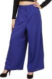 NOTYETbyus Regular Fit Women's Blue Trou...