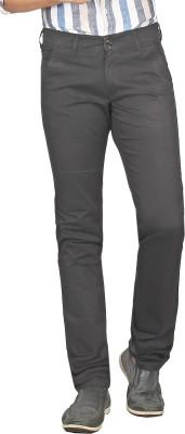 Sloper Slim Fit Men's Black Trousers