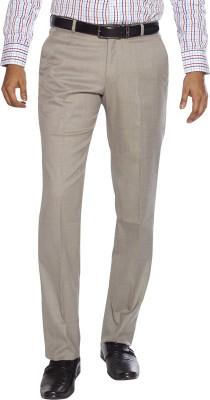 Flags Regular Fit Men's Beige Trousers