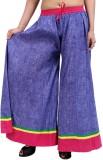 Rajrang Slim Fit Women's Blue Trousers