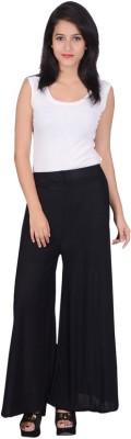 capy Regular Fit Women's Black Trousers