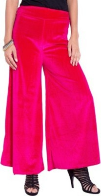 pinksisly Regular Fit Women's Pink Trousers