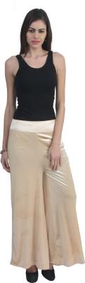 Advika Regular Fit Women,s Beige Trousers