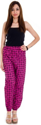 Glam Quotient Regular Fit Women,s Red Trousers