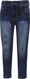 Tales & Stories Slim Fit Boys Denim Dark Blue Trousers
