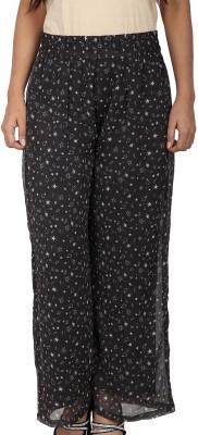 Dieu Regular Fit Women's Grey, Black, White Trousers