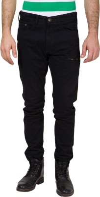 Locomotive Slim Fit Men's Black Trousers