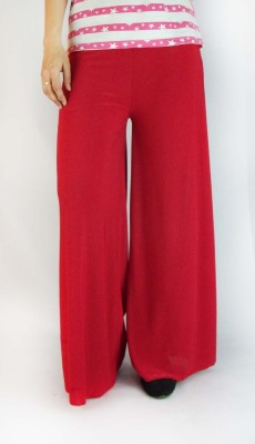 B VOS Regular Fit Women's Maroon Trousers