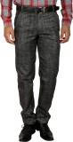 Larwa Regular Fit Men's Black Trousers