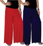 Xarans Regular Fit Women's Red, Blue Tro...