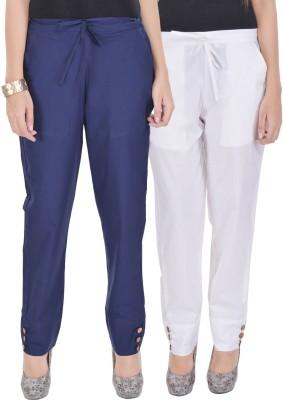 Kalrav Regular Fit Women's Multicolor Trousers