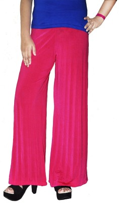 Srija's collection Slim Fit Women's Pink Trousers