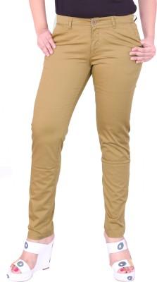 Airwalk Regular Fit Women's Beige Trousers