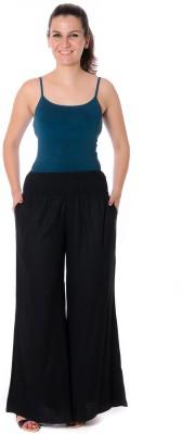 Urban Religion Regular Fit Women's Black Trousers