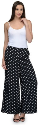 Something Different Regular Fit Women's Black Trousers