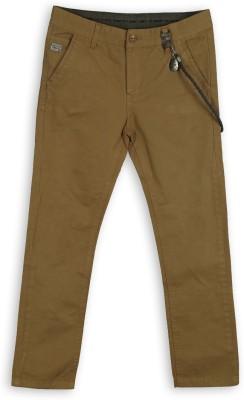 Lilliput Regular Fit Boys Brown Trousers