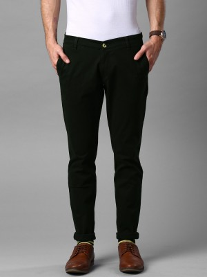 Invictus Slim Fit Men's Dark Green Trousers