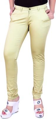 Airwalk Regular Fit Women's Gold Trousers