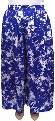 GraceDiva Regular Fit Women's Light Blue, White Trousers
