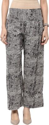 Sakhi Sang Regular Fit Women's Grey Trousers