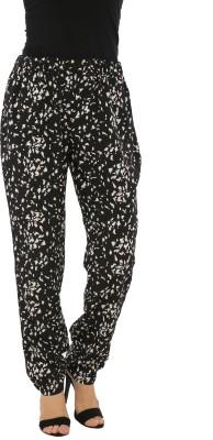Isadora Regular Fit Women's Black, White Trousers