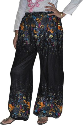 Home Shop Gift Regular Fit Women's Black Trousers