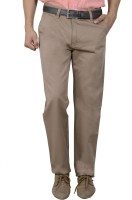 Studio Nexx Regular Fit Men's Beige Trousers
