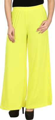 Le Luxe Regular Fit Women's Green Trousers