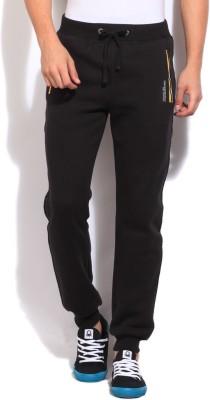 Pepe Jeans Regular Fit Men's Black Trousers