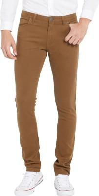 Globus Regular Fit Men's Brown Trousers