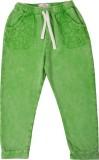 Noqnoq Regular Fit Girls Green Trousers