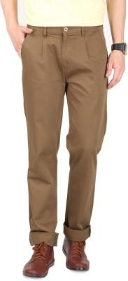 FR Regular Fit Men's Brown Trousers